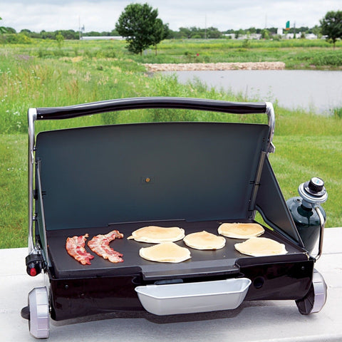 George Foreman GP200B Portable Propane Camp U0026 Tailgate Grill Portable Gas  Gri.