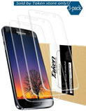 Taken Galaxy S7 screen protector [3-Pack] - HD Ultra Clear Film - Anti-Bubble... - Chickadee Solutions - 1