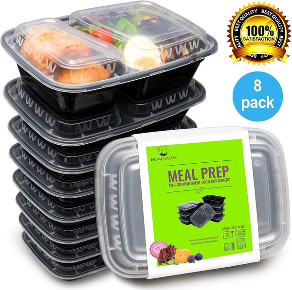 bento lunch box set meal prep food storage restaurant containers plasti chickadee. Black Bedroom Furniture Sets. Home Design Ideas
