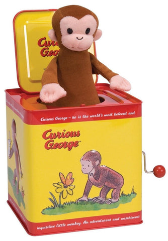 Curious George Jack in the Box - Chickadee Solutions