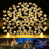 HDS-TEK HDS-WW-200 Decorative Solar Powered Christmas Lights 200 LED String L... - Chickadee Solutions - 1