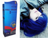 Premium Permanent Hair Colour Cream Dye Bright Blue 0_33 Punk Goth by Starlist - Chickadee Solutions