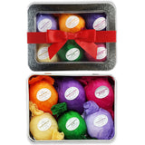 Bath Bombs Gift Set - USA Made - Ultra Lush SPA Fizzies Organic & All Natural... - Chickadee Solutions - 1