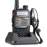 Baofeng UV5RA Ham Two Way Radio 136-174/400-480 MHz Dual-Band Transceiver (Bl... - Chickadee Solutions - 1