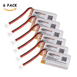 Keenstone 6 Pcs 3.7V 720mAh 20C Lipo Battery Pack for Syma X5C X5C-1 X5SW X5S... - Chickadee Solutions - 1