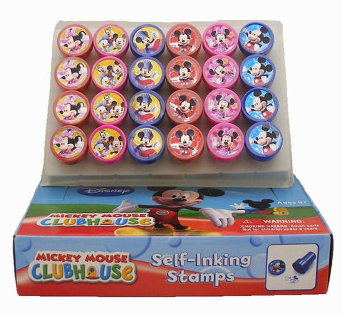 Disney Mickey Mouse and Minnie Stamp Art 24 Pcs - Chickadee Solutions - 1