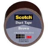 3M COMPANY 1005-BRN-IP 1.5x5YD Brown Duct Tape - Chickadee Solutions