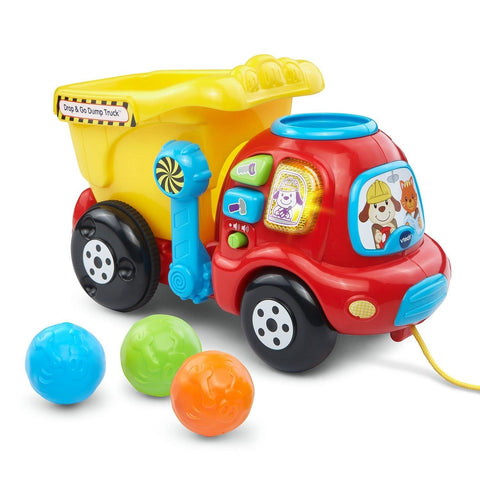 VTech Drop and Go Dump Truck Inquiries - by email - Chickadee Solutions - 1