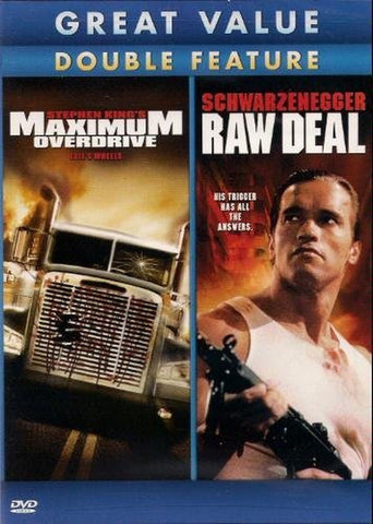 Maximum Overdrive / Raw Deal (Double Feature) - Chickadee Solutions
