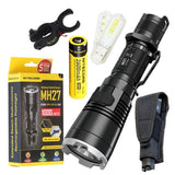Bundle: Nitecore MH27 CREE XP-L HI V3 LED 1000 Lumens Flashlight With NL186 1... - Chickadee Solutions - 1