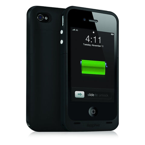 Mophie 2000mAh Juice Pack 'Plus' Battery Case for Apple iPhone 4/4s - Gray (C... - Chickadee Solutions