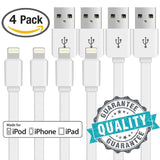 Lightning Cable [4 Pack] YUNSONG ( 5Ft / 1.5m ) Extra Long Lightning to USB C... - Chickadee Solutions - 1