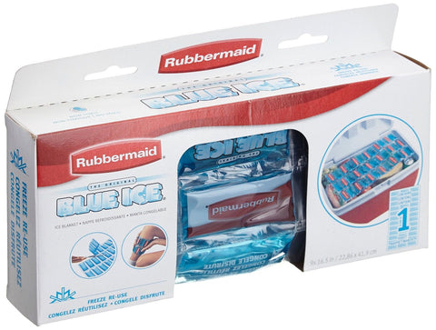 Rubbermaid Blue Ice Flexible Ice Blanket 9 x 16.5 in FG102406220 071691155669 - Chickadee Solutions - 1