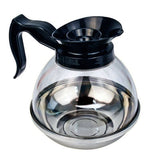 Coffee Decanter 64-Ounce Plastic Black - Chickadee Solutions