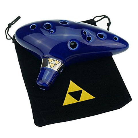 """Cheffort"" 12 Hole Ocarina From Legend of Zeldaalto C Ocarina with Protective... - Chickadee Solutions - 1"