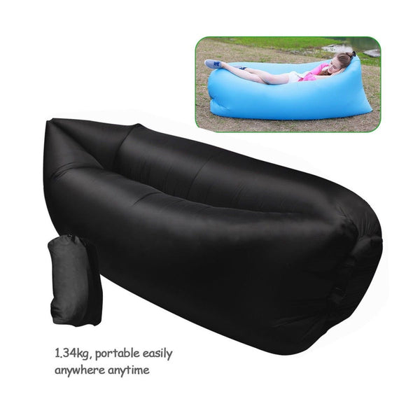inflatable outdoor air sleep sofa couch portable furniture. Black Bedroom Furniture Sets. Home Design Ideas