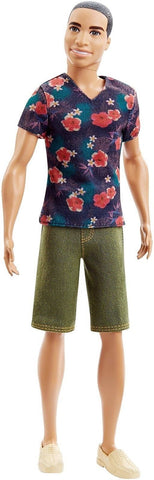 Barbie Fashionistas Ken Doll Floral Tee - Chickadee Solutions - 1