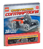Klutz LEGO Crazy Action Contraptions Craft Kit - Chickadee Solutions - 1