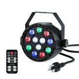 Lightingmama Stage Lights with 12 LED Par RGB Lighting by Remote Control and ... - Chickadee Solutions - 1