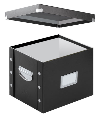 Snap-N-Store Letter-Size File Box Black (SNS01533) Letter File - Chickadee Solutions