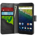 Nexus 6P Case i-Blason **Slim** Leather Wallet Book Cover with Stand Feature ... - Chickadee Solutions - 1