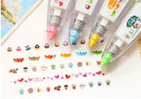 Eff-cientt 4pcs Korea Cute Novelty Sticker Machines & Stickers - Chickadee Solutions - 1