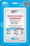 Net10 Bring Your Own Phone SIM Activation Kit - Retail Packaging - Chickadee Solutions