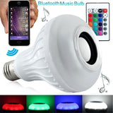BSOD LED RGB Color Bulb Light E27 Bluetooth Control Smart Music Audio Speaker... - Chickadee Solutions - 1