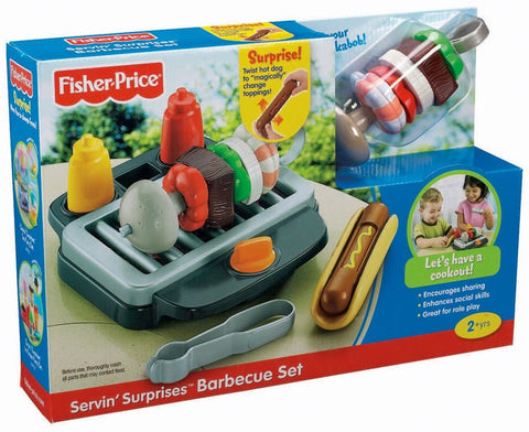 Fisher price servin 39 surprises barbeque grill play food - Cuisine fisher price bilingue ...