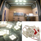 AUDEW 40 Led White Interior Lights Kit Led Modules For LWB Van Lorries Sprint... - Chickadee Solutions - 1
