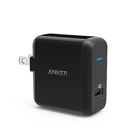 Anker 18W Quick Charge 2.0 Wall Charger for Smart Phones Black Anker - Chickadee Solutions - 1