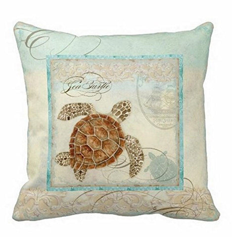 Animal Pillow Sham for Bed Square Canvas Accent Pillow Case Cute Designs Cush... Chickadee ...