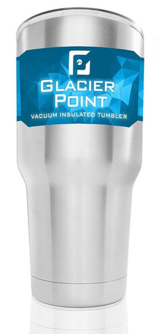 Glacier Point 30oz Vacuum Insulated Stainless Steel Tumbler Double Walled Con... - Chickadee Solutions - 1
