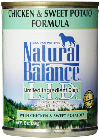 Natural Balance Chicken Formula Canned Dog Food