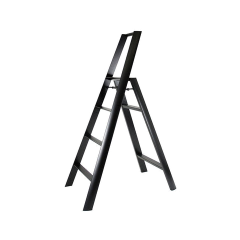 lucano step stool 4step Black - Chickadee Solutions
