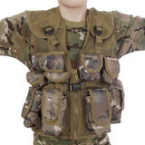 Kids Army All Terrain Camo Combat Vest - Fits Ages 5-13 Yrs - Chickadee Solutions - 1