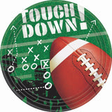 Football Frenzy Dinner Plates Party Accessory 50 piece - Chickadee Solutions