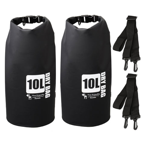 (2 Pack) The Friendly Swede Compact and Lightweight Dry Bag Water-Resistant 5... - Chickadee Solutions - 1