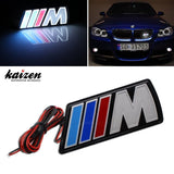 Kaizen ///M Power LED Illumine Front Emblem Front Grille Badge For BMW X1 X3 ... - Chickadee Solutions - 1