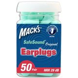 Mack's Ear Care Original Soft Foam Earplugs 50 Pair Pack of 1 - Chickadee Solutions - 1