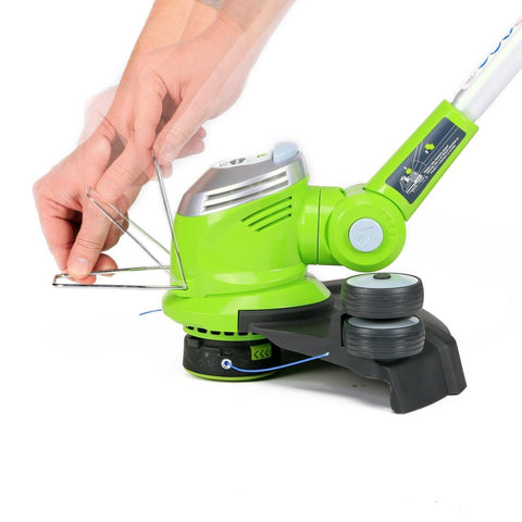 ideas on how to decorate a small bedroom greenworks 21272 5 5amp 15 inch corded string trimmer 5 5 21272