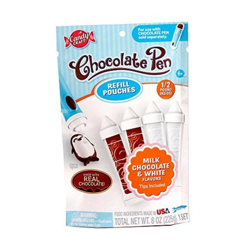 Chocolate Pen Refill Pouch - Chickadee Solutions - 1