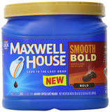 Maxwell House Smooth Bold Ground Coffee 30.6 Ounce - Chickadee Solutions - 1