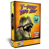 T-Rex Dinosaur Dig Kit -Excavate 3 Real Dino Fossils! - Chickadee Solutions - 1