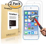 [2 Pack] iPod Touch 6 6th Generation & 5 5th generation Glass Screen Protecto... - Chickadee Solutions - 1