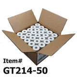 (50) Thermal Paper Rolls 2-1/4 X 50 Verifone Vx520 First Data FD400 Nurit 800... - Chickadee Solutions