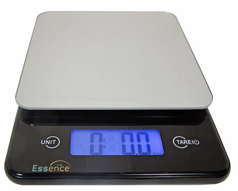 ESSENCE Digital Kitchen and Food Scale Silver and Blue - 100% No-Hassle Repla... - Chickadee Solutions - 1