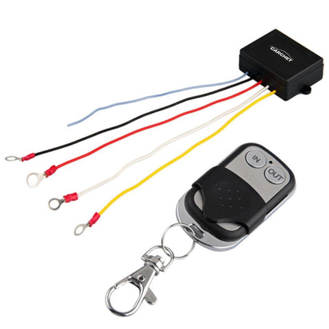 15m 12V 12 Volt Wireless Remote Control Kit for Truck Jeep ATV Winch - Chickadee Solutions - 1