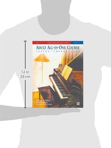 Alfred S Adult All In One Piano Course 3