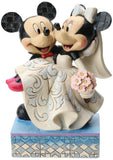 "Disney Traditions by Jim Shore Mickey and Minnie Wedding Figurine ""Congratula... - Chickadee Solutions - 1"